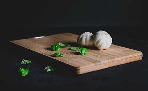 The Bamix Swissline fits in a minimalist, purist kitchen